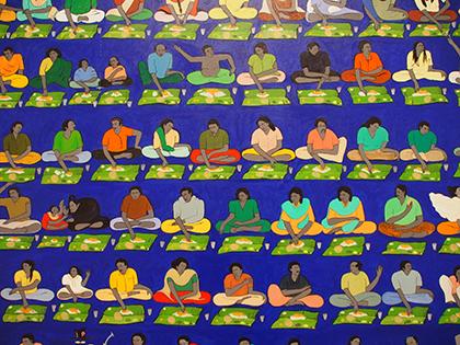 《私たちは来て、私たちは食べ、私たちは眠る》(部分)(1999-2001)
